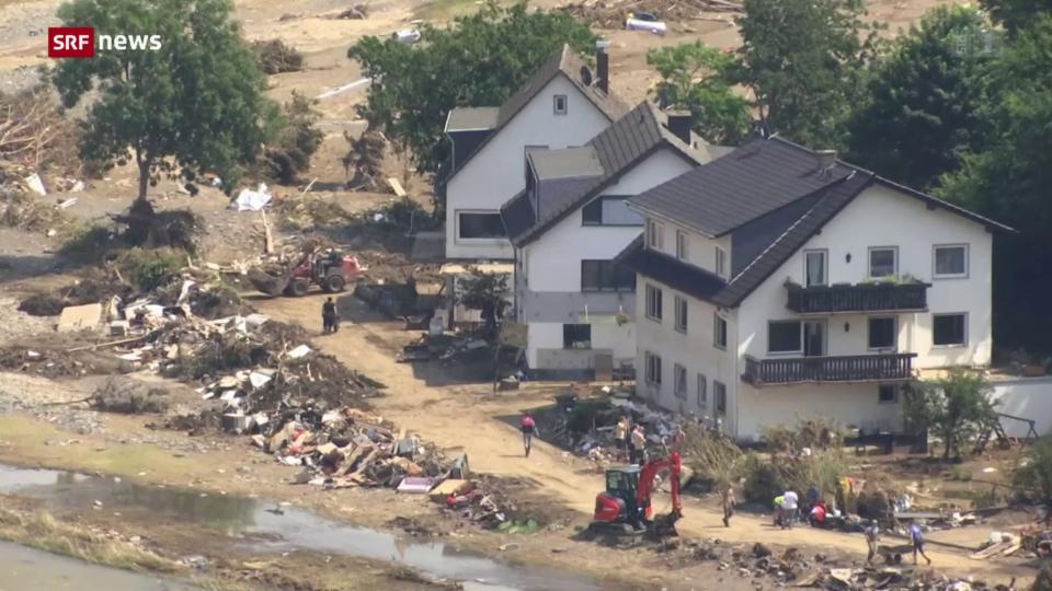Deutsche Regierung beschliesst Soforthilfen für Flutgebiete