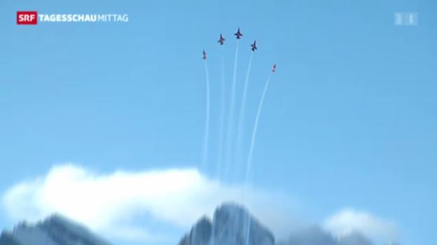 Video «Patrouille Suisse bleibt nun doch bestehen» abspielen