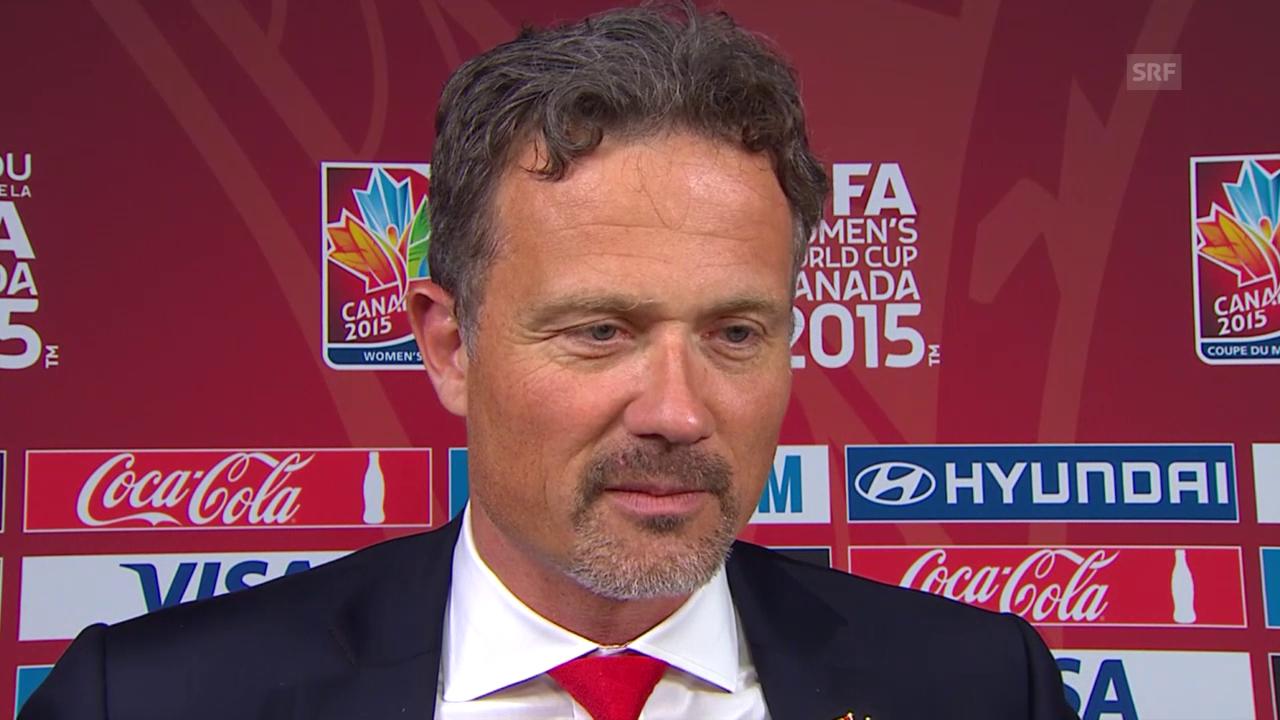 Fussball: Frauen-WM, Achtelfinal, Kanada - Schweiz, Interview Alex Miescher