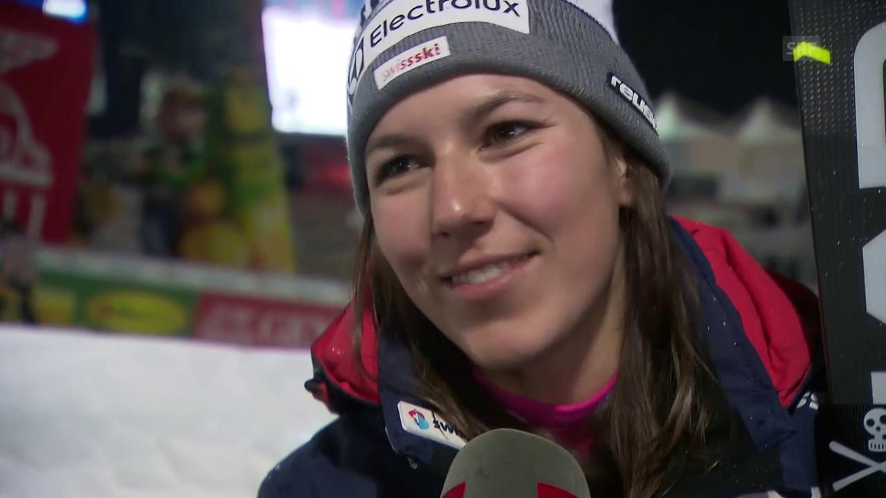 Das sagt Wendy Holdener zum ihrem 2. Rang in Zagreb