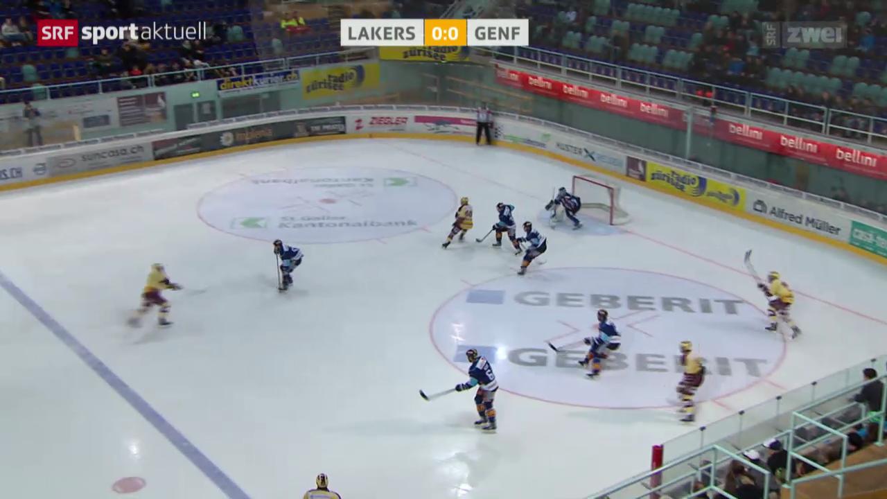Eishockey: Lakers - Genf