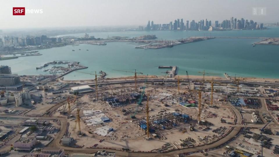 Aus dem Archiv: Proteste gegen WM-Gastgeber Katar