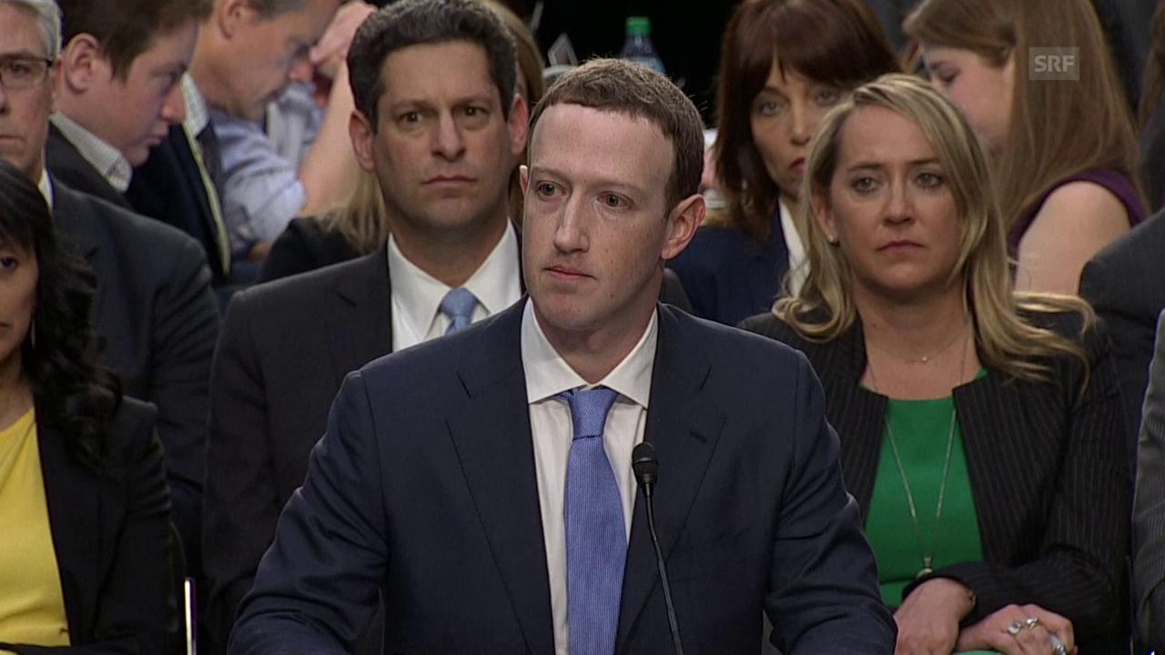 Zuckerberg: «Wir haben nicht genug getan. Es tut mir leid.»