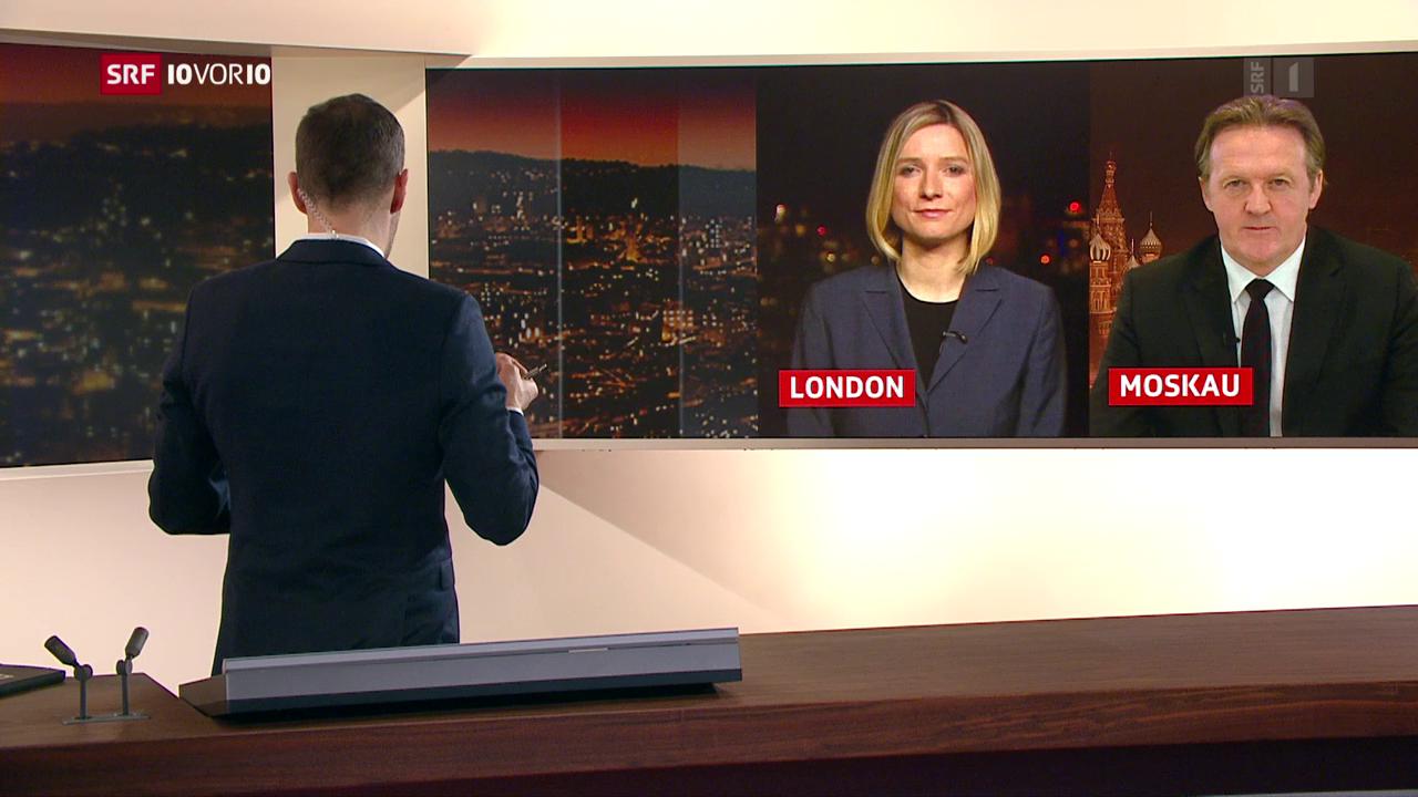 FOKUS: Einschätzungen aus London und Moskau