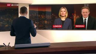 Video «FOKUS: Einschätzungen aus London und Moskau» abspielen