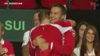 Video «Schweiz gewinnt Davis-Cup» abspielen