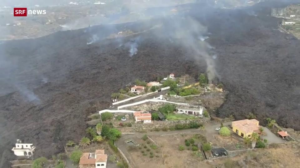 Vulkanausbruch sorgt für massive Schäden auf La Palma