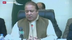 Video «Dreitägige Staatstrauer in Pakistan» abspielen