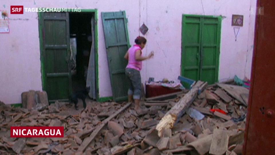 Erdbeben erschüttert Nicaragua