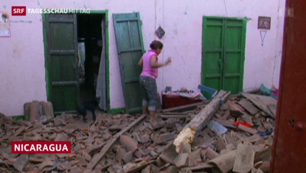 Video «Erdbeben erschüttert Nicaragua» abspielen