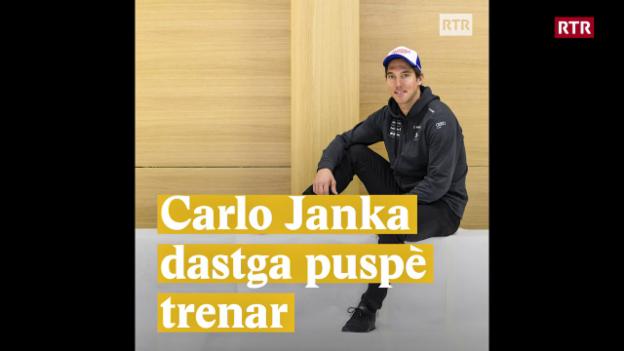 Laschar ir video «Carlo Janka dastga puspè trenar»
