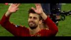 Video «Spanien: Piqué sichert hinten ab» abspielen