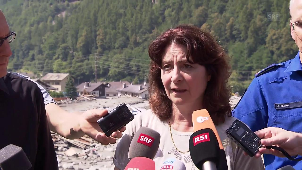 Anna Giacometti, Gemeindepräsidentin von Bondo