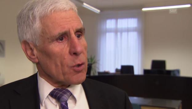 Video «Interview mit Rudolf Strahm, damals Beklagter von Nestlé» abspielen