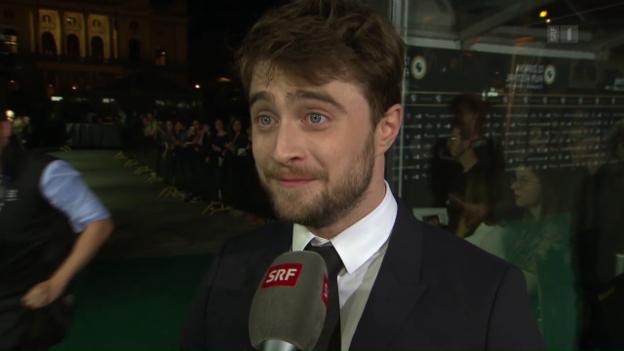 Video «Daniel Radcliffe - redselig und zauberhaft» abspielen