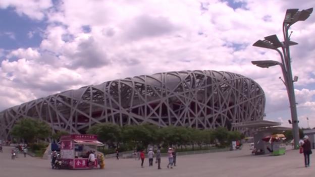 Video «LA: Das Vogelnest in Peking» abspielen
