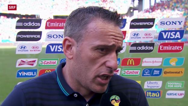 Video «Fussball: Interview mit Paulo Bento» abspielen