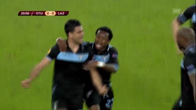 Fussball: EL-Achtelfinal Stuttgart - Lazio