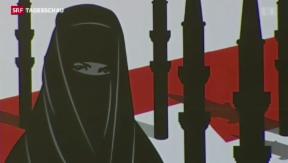 Video «Komitee will Nationales Burkaverbot » abspielen