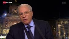 Video «Blocher: Müssen Volk die Klausel besser erklären» abspielen