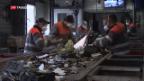 Video «Weniger Einnahmen bei Recycling» abspielen