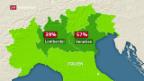 Video «Lombardei und Venetien wollen mehr Autonomie» abspielen