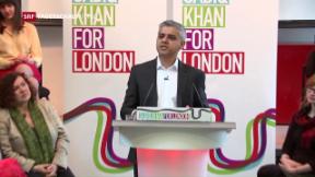 Video «Rennen um Bürgermeisteramt in London» abspielen