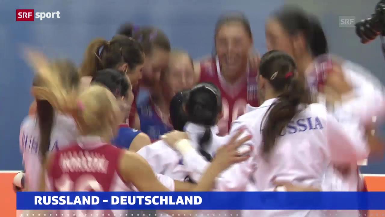 Volleyball: EM-Halbfinals