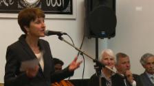 Video «Franziska Teuscher: «Haus der Religionen als Symbol der Offenheit.»» abspielen