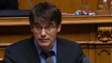 Video «Erklärung von SP-Fraktionschef Nordmann» abspielen