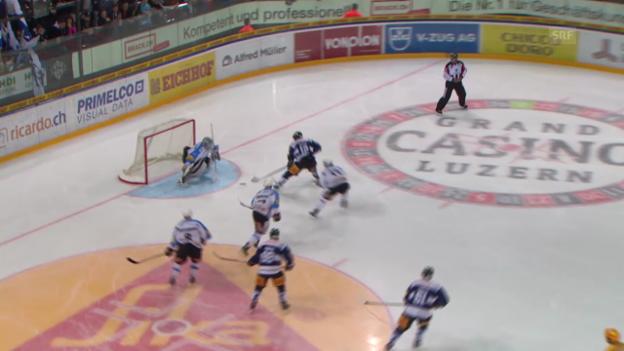 Video «Eishockey: Freiburgs 22 Gegentore in 4 Auswärtsspielen» abspielen