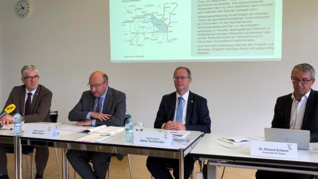 Ostschweizer Kantone machen Druck in Bern