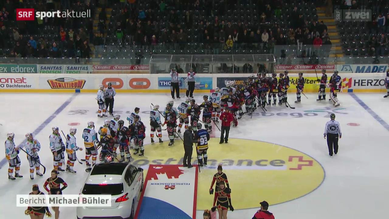 Eishockey: Bern - Lakers