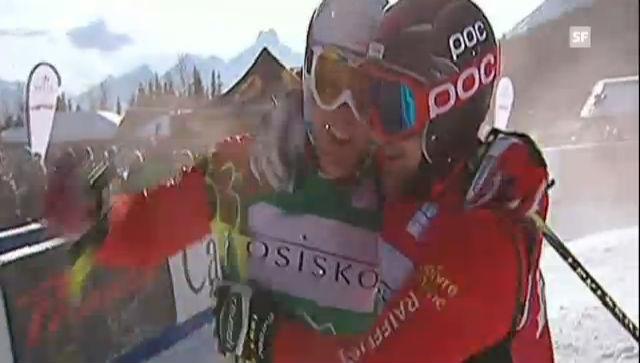 Skicross Nakiska: Final Männer