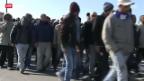 Video «Italiens Flüchtlinge ziehen gen Norden» abspielen