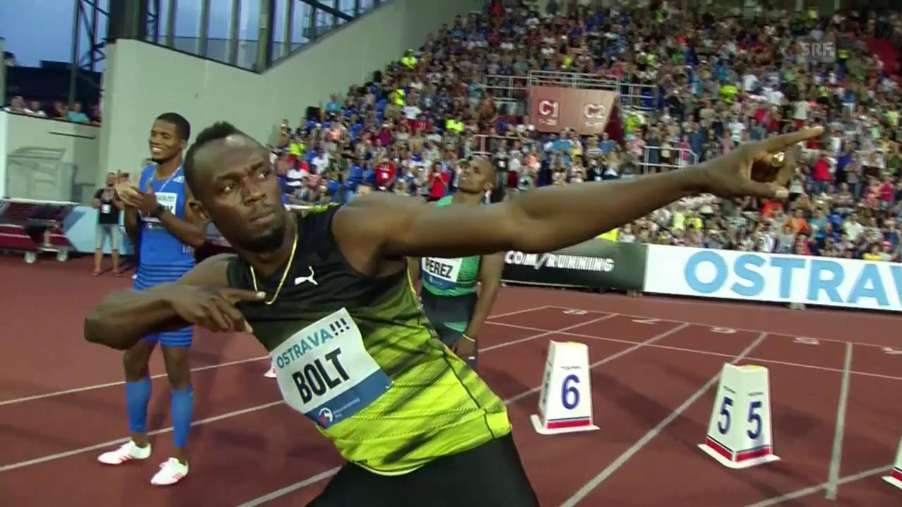 Bolt in Ostrava: «Die Fans waren sowieso begeistert»