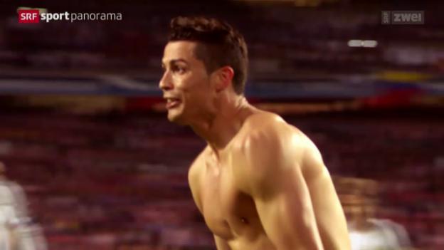 Video «Fussball: Nach dem Champions-League-Final» abspielen