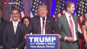 Video «K.O.-Sieg für Trump» abspielen