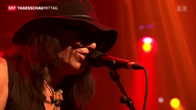 Sixto Rodriguez in Montreux