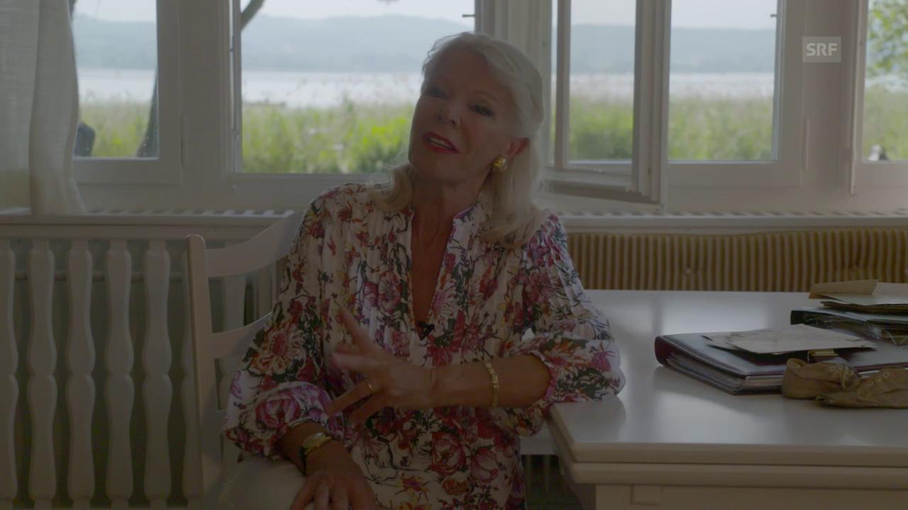 Birgit Steinegger im Gespräch - «Ich wäre gern so offen wie Frau ...