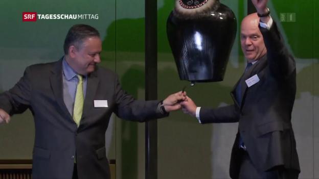 Video «Landis+Gyr: erfreulicher Start an der Börse» abspielen