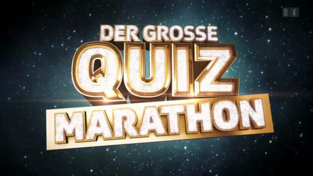 Video «Der grosse Quiz-Marathon (Teil 1)» abspielen