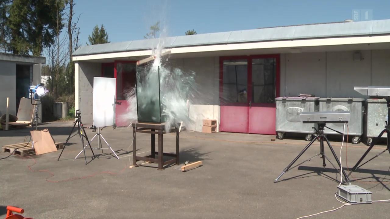 Explosions-Phänomene: Sprengen für die Wissenschaft