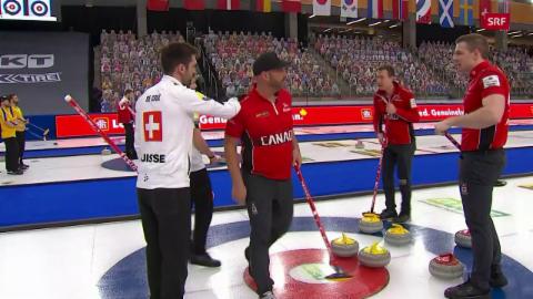 L'ultim crap en la partida tranter Canada e Svizra