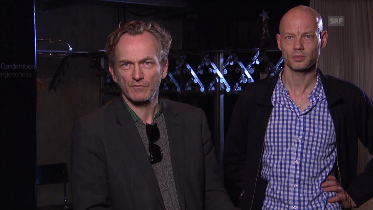 Sebastian Nübling und Uwe Heinrich im Interview