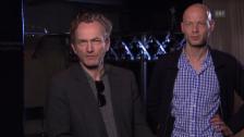 Video «Sebastian Nübling und Uwe Heinrich im Interview» abspielen