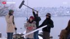 Video «Chinesischer Fernsehstar spielt in Zürich» abspielen