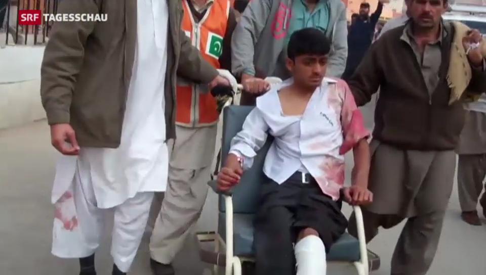 Taliban-Angriff auf Schule in Pakistan