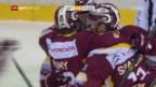Video «Genf siegt dank umstrittenem Treffer» abspielen