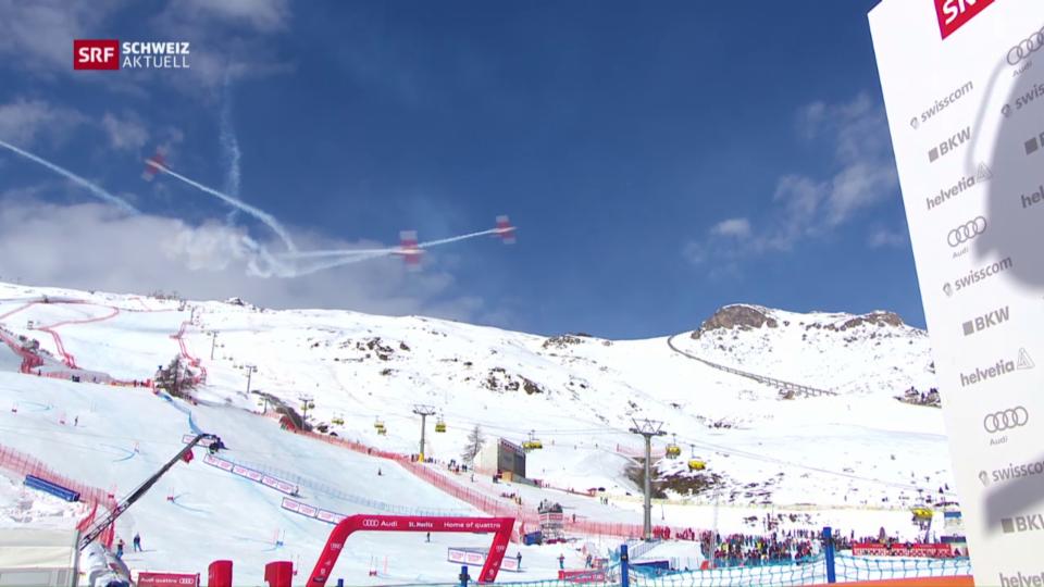 Flugunfall an der Ski WM